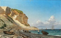 the white cliffs of dover by carl ludwig bille