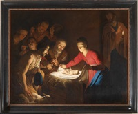 adorazione dei pastori by trophîme (theophisme) bigot the elder