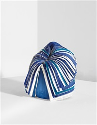 blue cabbage chair by nendo