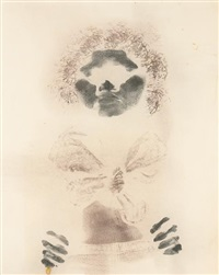 untitled (bodyprint) by david hammons