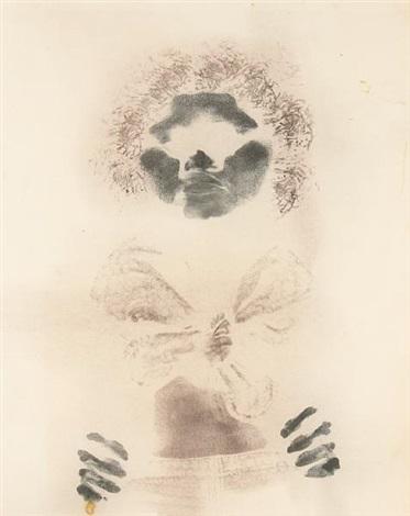untitled bodyprint by david hammons
