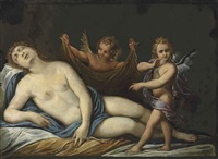 the sleep of diana by marcantonio bassetti