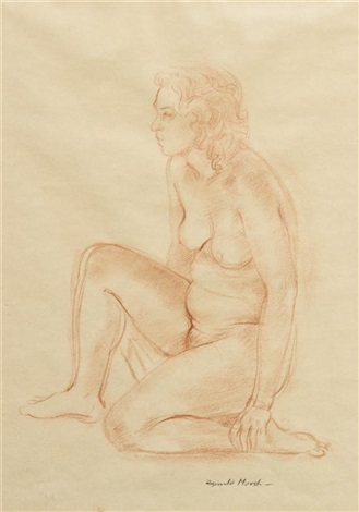 nude study by reginald marsh