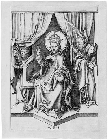 der thronende heiland by martin schongauer