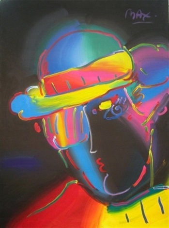 zero spectrum on black by peter max