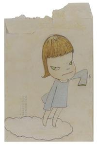 on the cloud by yoshitomo nara