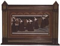 la sortie des nonnes by eugene kirchner