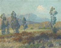 paysage by maurice braun