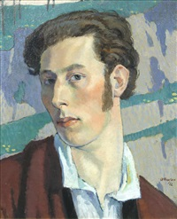 self portrait by adrian paul allinson