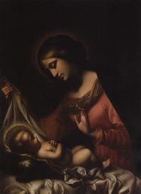 the madonna of the veil by georgios varouchas