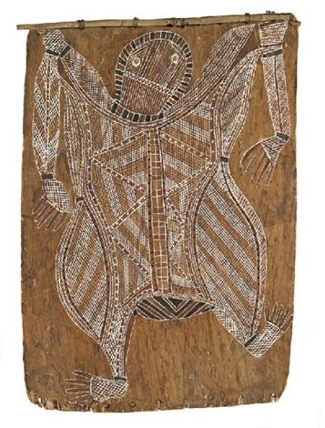 untitled female figure by yirawala