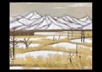 snow field by kyujin yamamoto
