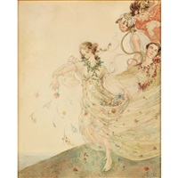iris, goddess of spring by lili rethi