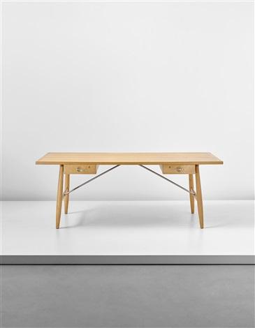 architect's desk, model no. jh 571 by hans j. wegner