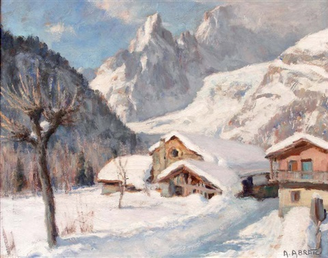 le village dentrèves sous la neige courmayeur by angelo abrate