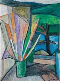 vaso de flores by aldo bonadei