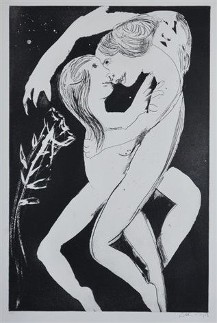 lovers by arthur merric bloomfield boyd