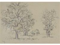 oak studies by gregoire johannes boonzaier