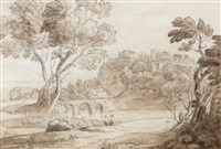italianate landscape by john white abbott