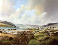 bertraghboy bay, connemara by r. b. higgins