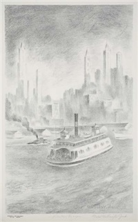 hoboken ferry by mabel wellington jack