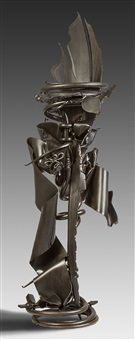 metal sculpture by albert paley