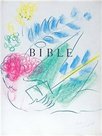 l'ange et la bible by marc chagall