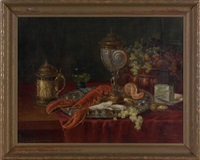 still life by eduard huber-andorf