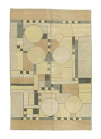 coonley carpet by frank lloyd wright