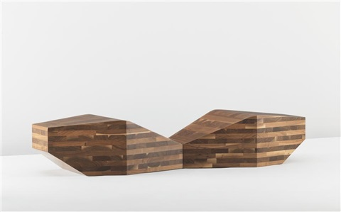 type iv giza chaises longues from the monoforms series pair by david adjaye