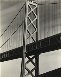 the bay bridge, oakland by brett weston