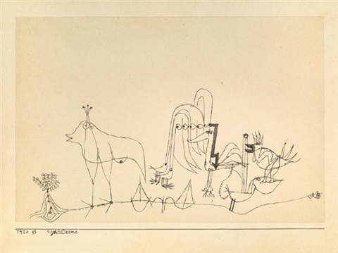 vogel drama by paul klee