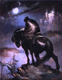 the rider by frank frazetta
