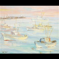 monterey harbor by harris sam
