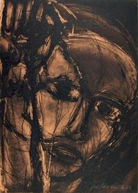ohne titel (3 works from das ungleichschenklige dreieck)) by josef felix müller