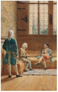 la rencontre des philosophes by maurice leloir