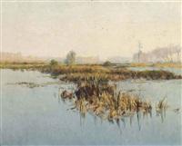 marais à picguigny, somme by alexandre jacob