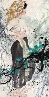 静幽之思 (girl) by dai mingde