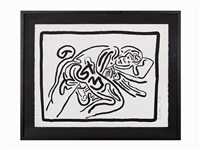 from bad boys by keith haring