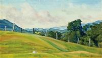 vermont hillside by luigi lucioni