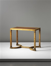 table (from the caesar series, commissioned by kurt levin, for the boardroom, stocking manufacturers, malmö) by axel einar hjorth