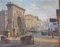 la porte saint denis by alfred victor fournier