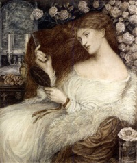 lady lilith (on 2 joined sheets) by henry treffry dunn