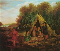 camden in the old days (penobscot indians) by r. mcfarlane