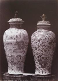 potiches anciennes de la chine (collection du palais de madrid) by juan laurent