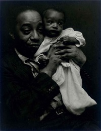 joe and baby by roy decarava