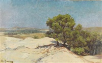 les dunes by adolphe ernest gumery