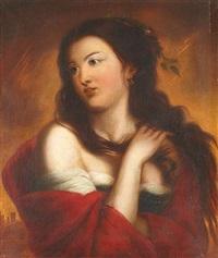 portrait de femme by josef cornelius correns