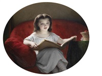 a quiet read by hippolyte dominique holfeld