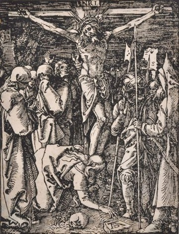 crucifixion and untitled 9 works 10 works from the small passion by albrecht dürer